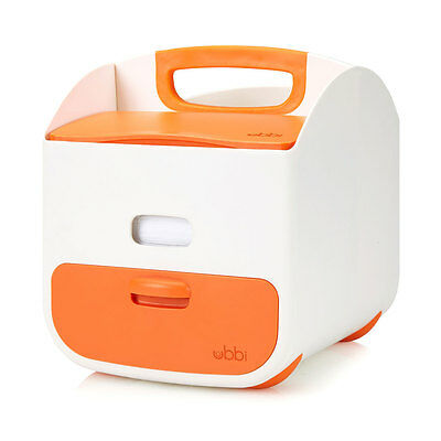 NEW Ubbi Baby Diaper Caddy - Orange