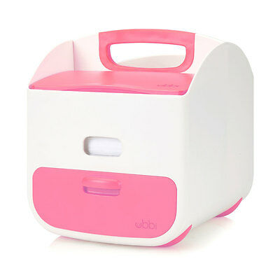 NEW Ubbi Baby Diaper Caddy - Pink