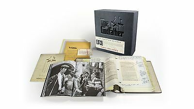 Francis Ford Coppola Autographed The Godfather Notebook Limited Edition Book Set
