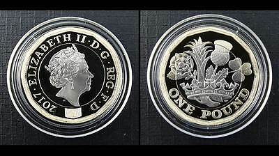 Royal Mint 2017 The New 12 Sided £1 Proof Coin - One Pound Coin