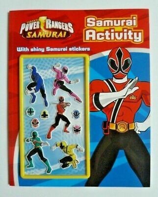 Power Rangers Dino Charge Sticker & Activity Book over 500 Stikcers
