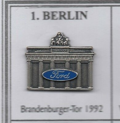 Ford Denkmal Auto Pin / Badge / Anstecknadel / Button / Nr.1
