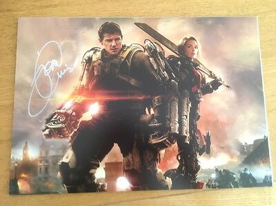 Tom Cruise Autograph Photo 12 By 8 Inch With Coa 184744