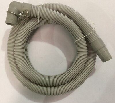W081 Universal Drain Hose 24Mm Outlet 1 90Deeg - W081 Universal Drain Hose 24Mm