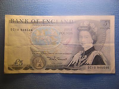 Great Britain  5 Pounds  1973