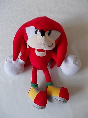 """12"""" knuckles plush soft toy sonic the hedgehog"""
