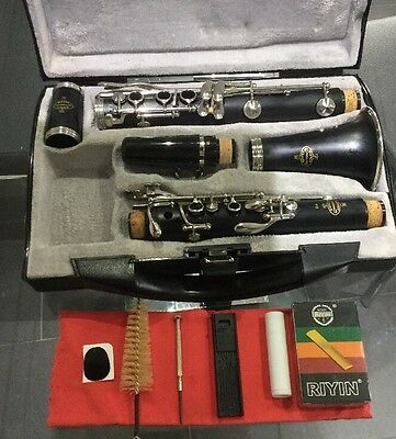 Buffet Crampon B12 Clarinet , Super Condition Serviced - New 4C Mouthpiece