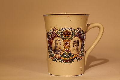 King George V and Queen Mary Silver Jubilee Mug 1935 206