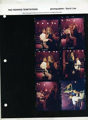 The Fighting Tempations Contact Sheet photo Behind The Scenes #3 Cuba Beyonce