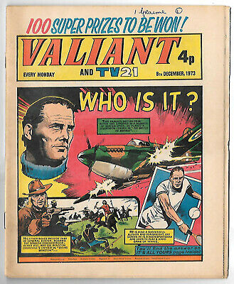 Valiant 8th Dec1973 (very high grade copy) Star Trek, Kelly's Eye, Janus Stark