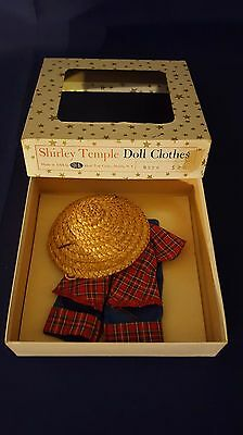 Vintage Ideal Shirley Temple 1958 RARE Outfit 12 inch Original Box