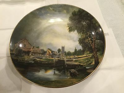 Wall plate: Constable Painting