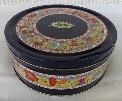 Master Choice Cookie  Tin, March 91