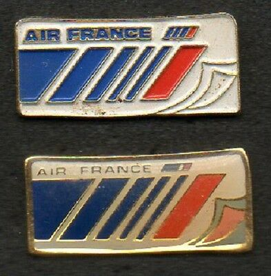 Lot 2 Pin's Air France  - Collection