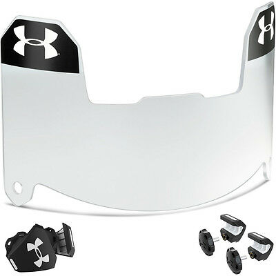 Under Armour Youth Football Visor - Clear - FREE SHIPPING