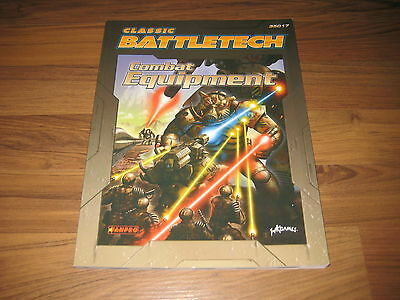 Classic Battletech Combat Equipment Sourcebook FanPro WizKids 2005 SC New Neu