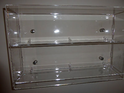 Acrylic Model Wall Display Case for 1:43 1:50 Model Trucks cars 1:12 Motorcycles