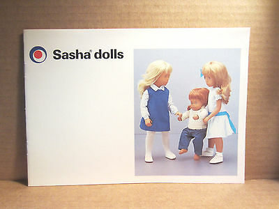 1985 Sasha Dolls Catalog Mint Condition 12 Pages Including Covers