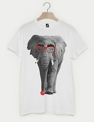 Comic Relief Red Nose Day Elephant Fashion Print Unisex Mens Womens T-Shirt