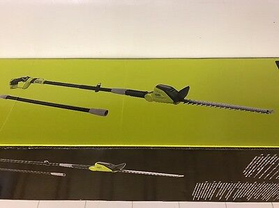 Ryobi ONE+ OPT1845 18 V Pole Hedge Trimmer Brand-New