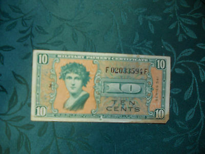 Ten Cent Military Payment Certificate Series 541