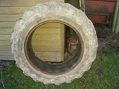 Goodyear tractor tyre 11-28 12.4 Fits Some ferguson,massey,david brown, dexter