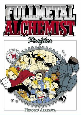 FULL ALCHEMIST PROFILES  by Hiromu Arakawa Japanese Anime