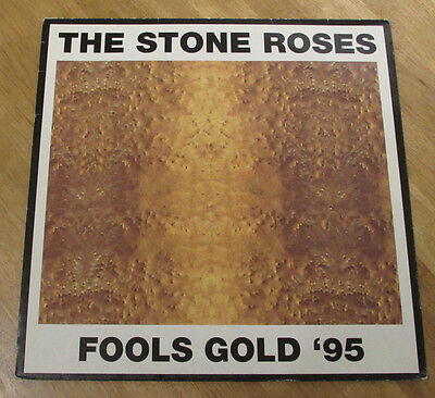 "The Stone Roses 12"" VINYL Fools Gold 1995 Manchester Indie Britpop ORE T71"