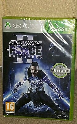 Star Wars Force Unleased 2-Xbox 360-Brand New Game