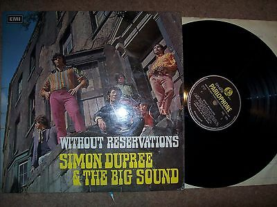 Simon Dupree &the Big Sound - without reservations..1967 parlophone..pmc 7029
