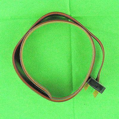 """Color Coded Flat Ribbon Cable 16 Pin Male IC Dip Connector Plug One End 11"""" New"""