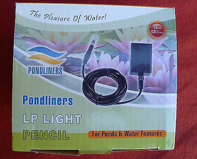 LED 1.5 Watt Pond, Fountain or Water Feature Light Pencil
