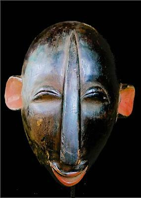 Beautiful Tribal Dan Bete   Mask  ---- Coted'ivoire--with Stand