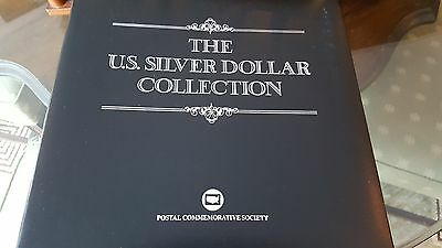 Postal Commemorative Society The U.S. Silver Dollar Collection COMPLETE 38 Coins