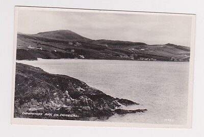 Ireland Donegal Downings Bay RPPC Postcard