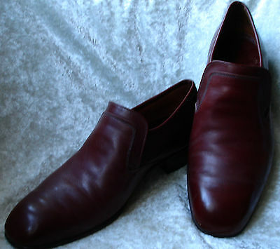 Men's CHEANEY Royal Sceptre style made in England brown-red shoes  8 1/2 UK