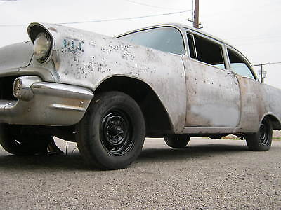 1957 Chevrolet Bel Air/150/210 BLACK WIDOW!! FULIE !! GASSER !! 2 DR 210 2 DOOR BEL AIR, ALL NEW FLOORS INSTALLED, SOLID TX BODY, HOTROD GASSER STREETROD