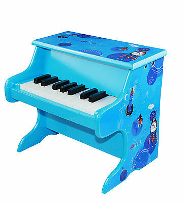 Wooden Kid's Piano Toy 18 Key Boy Musical Instrument