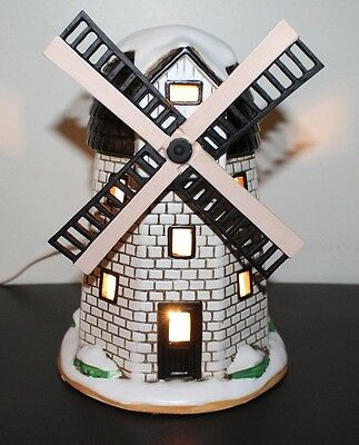 Lefton Christmas House Windmill