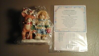 """Cherished Teddies ~ Nils ~ """"near And Deer For Christmas"""" # 617245"""