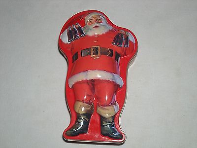 Coca-Cola Santa Shaped Playing Card Tin with Cards