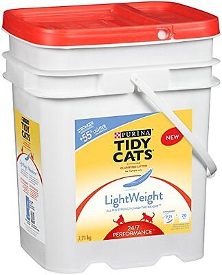 Purina Tidy Cats LightWeight 24/7 Performance Clumping Cat Litter for Multiple C