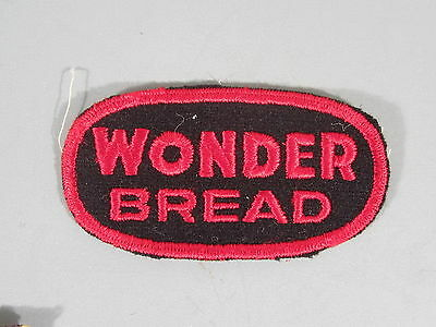 Wonder Bread Patch / New Old Stock of Closed Embroidery Company / FREE Ship
