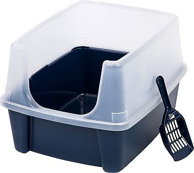 Iris CLH-12 Open-Top Litter Box with Shield and Scoop