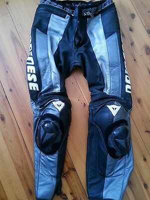 Dainese leather pants 48