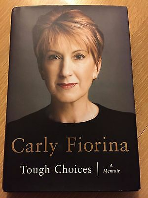 Carly Fiorina Signed Autographed Book