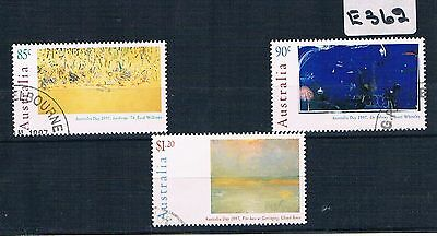 1997 Australia Day 3 Values Fine Used    E362