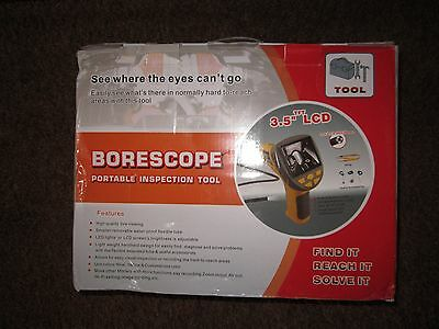 Borescope portable inspection tool