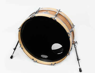 "Small Compact Bass Drum 6"" x 22"" Skinny Bass Drum Pro - Burnt Orange Finish"