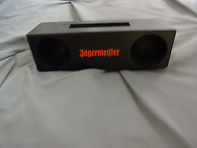Jagermeister Mobile Wood amplifier / phone holder-new promo 2016